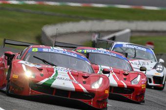 Carrie Schreiner Sean Hudspeth, Ferrari 488 Evo GT3 PRO#8, AF Corse, CAMPIONATO ITALIANO GRAN TURISMO