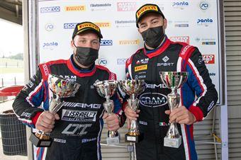 Luca Segu Baruch Bar, Mercedes AMG GT3 PRO AM #90, AKM Motorsport, CAMPIONATO ITALIANO GRAN TURISMO