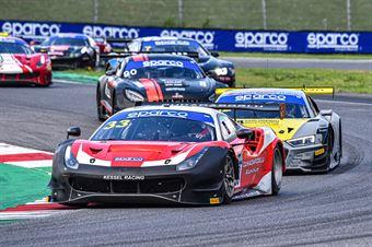Murat Cuhadaroglu David Fumanelli, Ferrari 488 Evo GT3 AM #33, Kessel Racing, CAMPIONATO ITALIANO GRAN TURISMO