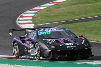 Omar Jackson Charles Hollings, Ferrari 488 Challenge Evo GT CUP #309, KESSEL Motorsport, CAMPIONATO ITALIANO GRAN TURISMO