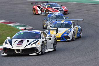 Axel Sartingen Francesco Lopez, Ferrari 488 Challenge Evo GT CUP #378, RS Racing, CAMPIONATO ITALIANO GRAN TURISMO