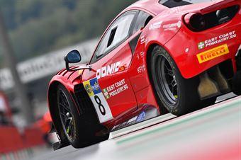 Carrie Schreiner Sean Hudspeth, Ferrari 488 Evo GT3 PRO#8, AF Corse , CAMPIONATO ITALIANO GRAN TURISMO