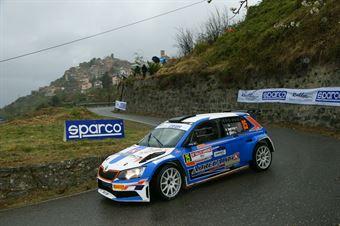 Stefano Baccega, Luca Oberti(Skoda Fabia R5 #25, ASD NEW TURBOMARK RALLY TEAM), CAMPIONATO ITALIANO RALLY SPARCO