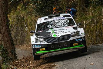 Giandomenico Basso Lorenzo Granai, Skoda Fabia R5 #2, Movisport, CAMPIONATO ITALIANO RALLY SPARCO