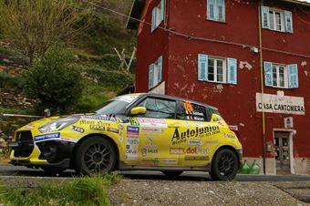 Simone Goldini, Eric Macori (Suzuki Swift Sport Hybrid), CAMPIONATO ITALIANO RALLY SPARCO