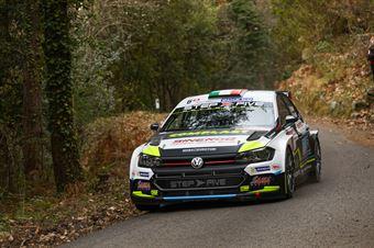 Marco Signor, Francesco Pezzoli (Volkswagen Polo R5 #6, SAMA RACING A.S.D.), CAMPIONATO ITALIANO RALLY SPARCO