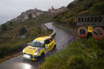 Simone Goldoni, Eric Macoli (Suzuki Swift Sport Hybrid #126), CAMPIONATO ITALIANO RALLY SPARCO
