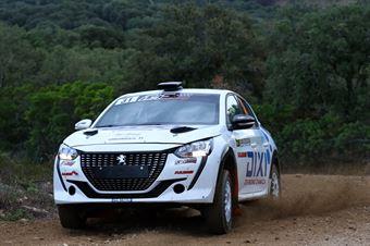 Fabio Battilani – Jasmine Manfredi Peugeot 208 Rally4 #31, CAMPIONATO ITALIANO RALLY TERRA