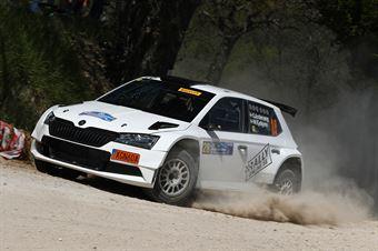 Stig Andervang – Robin Eriksson (Skoda Fabia R5 Evo #28, Rallyonline.se), CAMPIONATO ITALIANO RALLY TERRA