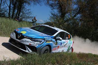 Gianni Bardin – Luca Pascale (Renault Clio RS Line), CAMPIONATO ITALIANO RALLY TERRA