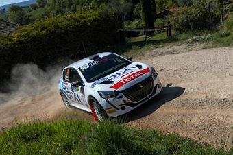 Fabio Battilani – Jasmine Manfredi (Peugeot 208 Rally4 #79, A.S.D G.R Motosport), CAMPIONATO ITALIANO RALLY TERRA