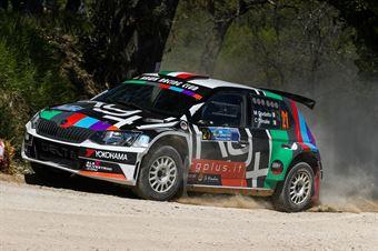 Mattia Codado – Christian Dinale (Skoda Fabia R5 #21, Hawk Racing Club s.r.l), CAMPIONATO ITALIANO RALLY TERRA