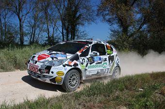 Pierluigi Frare – Miriana Gelasi (Mitsubishi Colt CZ3 #113, Rally Team A.S.D.), CAMPIONATO ITALIANO RALLY TERRA