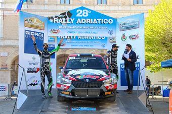 Edoardo Bresolin – Rudy Pollet (Skoda Fabia R5 Evo #14, Hawk Racing Club s.r.l), CAMPIONATO ITALIANO RALLY TERRA