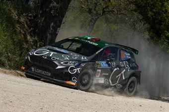 Fabio Sandel – Silvia Mosela (Ford Fiesta R5 MKII #27, XMotors s.r.l), CAMPIONATO ITALIANO RALLY TERRA