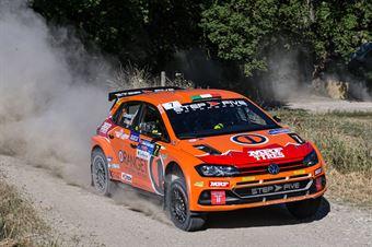 Simone Campedelli, Gianfrancesco Rappa, Volkswagen Polo R5 #7, Island Motorsport, CAMPIONATO ITALIANO RALLY TERRA