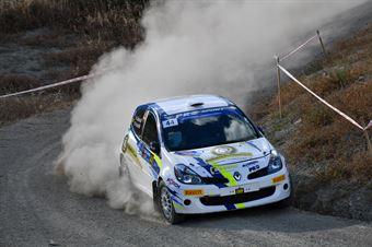 Nicolaj Ciofolo, Mattia Pozzoli, Renault Clio Sport R3C #44, Bluthunder Racing, CAMPIONATO ITALIANO RALLY TERRA