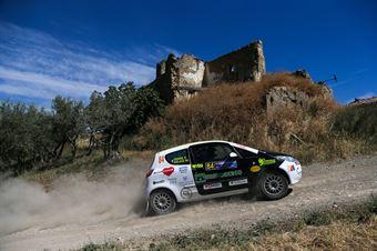 Pierlugi Frare, Miriana Gelasi, Mitsubishi Colt CZ3  N2 #84, Rally Team, CAMPIONATO ITALIANO RALLY TERRA