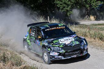 Alberto Marchetti, Mario Scalmani, Skoda Fabia R5 #25, Pintarally Motorsport, CAMPIONATO ITALIANO RALLY TERRA