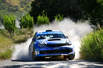 Zelindo Melegari, Manuel Fenoli, Subaru Impreza N4 #39, Movisport, CAMPIONATO ITALIANO RALLY TERRA