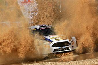 Francesco Tali, Fabio Salis (Ford Fiesta R5 #113, Porto Cervo Racing Team), CAMPIONATO ITALIANO RALLY TERRA