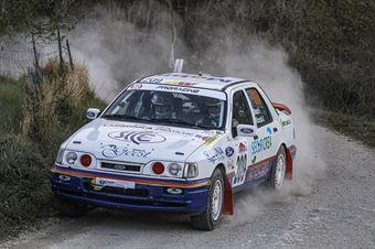 Fabrizio Bacci Andrea Nicolai, Ford Sierra Cosworth #209, Pro Racing Srl, CAMPIONATO ITALIANO RALLY TERRA STORICO