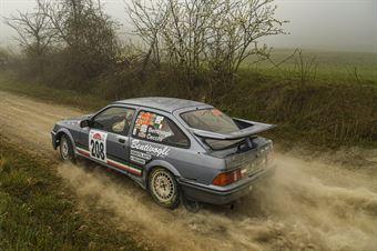 Bruno Bentivogli Andrea Cecchi, Ford Sierra Cosworth #208, CAMPIONATO ITALIANO RALLY TERRA STORICO