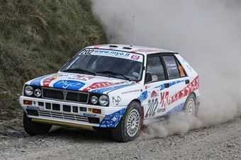 Marco Bianchini Giulia Paganoni, Lancia Delta Int 16V #202, Key Sport Engineering, CAMPIONATO ITALIANO RALLY TERRA STORICO
