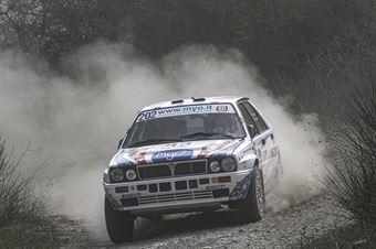 Marco Bianchini Giulia Paganoni, Lancia Delta Int 16V #202, Key Sport Engineering Srl, CAMPIONATO ITALIANO RALLY TERRA STORICO