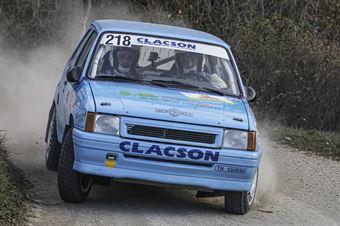 Roberto Galluzzi Andrea Montagnani, Opel Corsa GSI #218, ASD Jolly Racing Team, CAMPIONATO ITALIANO RALLY TERRA STORICO
