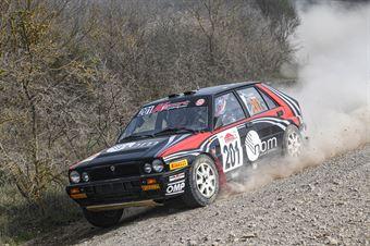 Lucky Fabrizia Pons, Lancia Delta Int 16V #201, Key Sport Engineering, CAMPIONATO ITALIANO RALLY TERRA STORICO