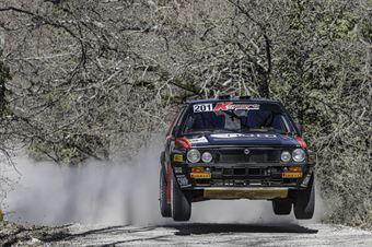 Lucky Fabrizia Pons, Lancia Delta Int 16V #201, Key Sport Engineering Srl, CAMPIONATO ITALIANO RALLY TERRA STORICO