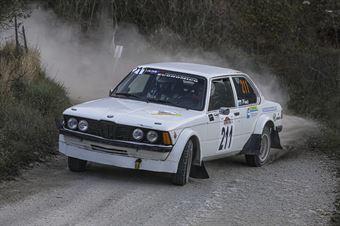 Giovanni Muccioli Enrico De Marini, BMW 320 #211, Scuderia San Marino, CAMPIONATO ITALIANO RALLY TERRA STORICO