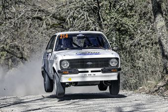 Paolo Pasquali Enea Pasquali, Ford Escort MK2 #214, CAMPIONATO ITALIANO RALLY TERRA STORICO