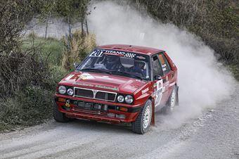 Stefano Pellegrini Marco Cavalli, Lancia Delta Int 16V #207, Scuderia Malatesta, CAMPIONATO ITALIANO RALLY TERRA STORICO