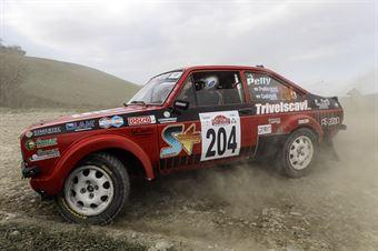 Bruno Pelliccioni Mirco Gabrielli, Ford Escort RS 2000 #204, Scuderia Malatesta, CAMPIONATO ITALIANO RALLY TERRA STORICO