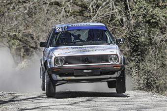 Fabrizio Pierucci Monica Buonamano, VW Golf GTI 16V #216, Pistoia Corse, CAMPIONATO ITALIANO RALLY TERRA STORICO