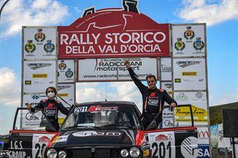 Podio, CAMPIONATO ITALIANO RALLY TERRA STORICO