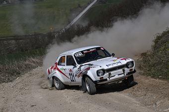 Eric Royere Florian Barral, Ford Escort 1600 #221, CAMPIONATO ITALIANO RALLY TERRA STORICO