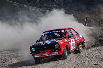Andrea Tonelli Roberto Debbi, Ford Escort RS 2000 #203, Movisport, CAMPIONATO ITALIANO RALLY TERRA STORICO
