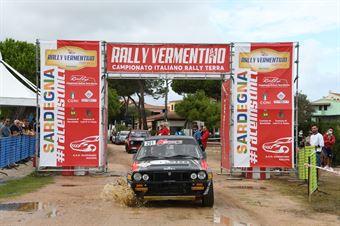 Start Rally Historicu del Vermentino, CAMPIONATO ITALIANO RALLY TERRA STORICO
