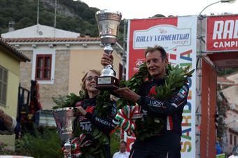Lucky Fabrizia Pons, Podio, CAMPIONATO ITALIANO RALLY TERRA STORICO