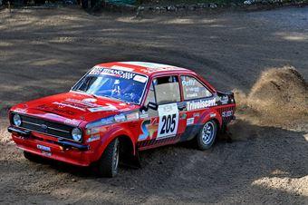 Pelliccioni Bruno Marco Cavalli, Ford Escort #205, CAMPIONATO ITALIANO RALLY TERRA STORICO