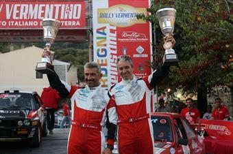 Andrea Tonelli Roberto Debbi, Podio, CAMPIONATO ITALIANO RALLY TERRA STORICO