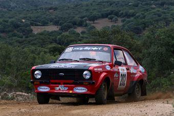 Andrea Tonelli Roberto Debbi, Ford Escort rs #202, CAMPIONATO ITALIANO RALLY TERRA STORICO