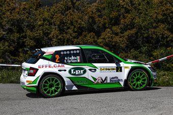 2Andrea Carrella, Elia De Guio(Skoda Fabia Evo R5 #2, MS Munaretto) , CAMPIONATO ITALIANO WRC