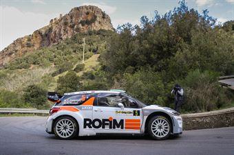 Luca Pedersoli, Anna Tomasi(Citroen DS3 #5), CAMPIONATO ITALIANO WRC
