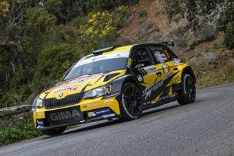 9Ivan Ferrarotti, Fabio Grimaldi(Skoda Fabia R5 #9, Movisport), CAMPIONATO ITALIANO WRC