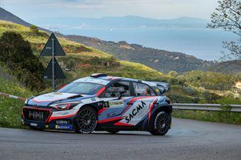 Corrado Fontana, Nicola Arena(Hyundai new i20 wrc #1, Bluthunder Racing Italy), CAMPIONATO ITALIANO WRC