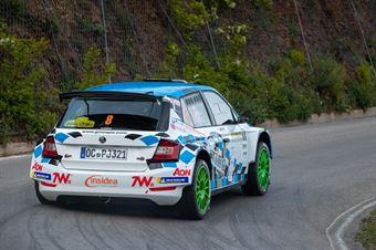 Alessandro Gino, Daniele Michi(Skoda Fabia Evo R5 #8), CAMPIONATO ITALIANO WRC